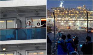 Detectan 99 nuevos contagios de Coronavirus en crucero de Japón