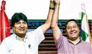 El candidato de Evo Morales lidera intención de voto en las presidenciales