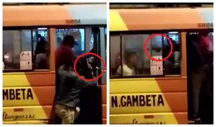 SMP: delincuentes armados asaltan cúster llena de pasajeros