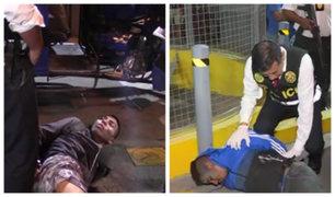 Comas: Policía enfrenta a balazos a delincuentes que asaltaron grifo