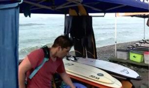 Playa Makaha: escuelas de surf deberán contar con seguro para poder funcionar