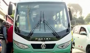 San Borja: implementan buses gratuitos para evitar colectivos informales