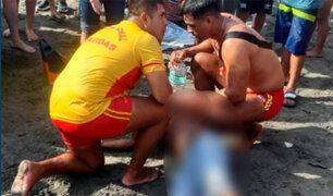 Ciudadano extranjero murió ahogado en una playa de La Libertad