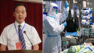 China: director del principal hospital de Wuhan murió por coronavirus