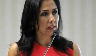 Nadine Heredia: Fiscal la acusa de encabezar organización criminal para favorecer a Odebrecht
