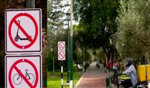 El Olivar: ciclistas y vecinos divididos ante prohibición del tránsito de bicicletas y scooters