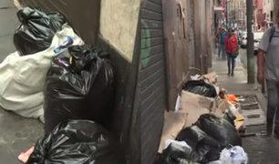 Barrio Chino: dueños de chifas han convertido las pistas y veredas en enormes basurales