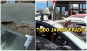 Av. Javier Prado: Intervienen a taxis colectivos en estado deplorable y con más de S/7 mil en multas