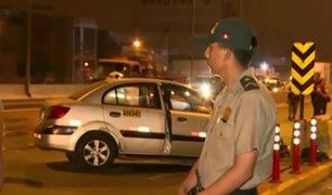 SMP: taxista muere tras chocar contra muro en la Panamericana Norte
