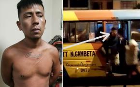 Capturan a uno de los delincuentes que asaltaron cúster en San Martín de Porres