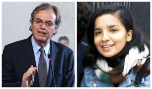 """Exministro Basombrío sobre Solsiret Rodríguez: """"Asumo toda responsabilidad política"""""""