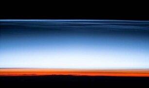 """NASA publica foto del """"borde del espacio"""""""