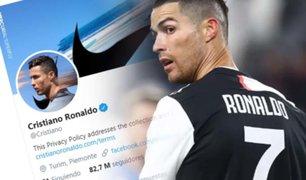 Cristiano Ronaldo es el deportista que más gana por publicaciones en Twitter