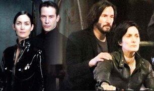 Matrix 4: filtran primeras imágenes de Neo y Trinity en escena de acción