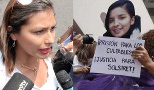 """Arlette Contreras sobre Solsiret: """"Autoridades no asumieron responsabilidades, la culparon a ella"""""""