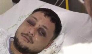 España: hombre termina con la cara desfigurada por defender a una mujer