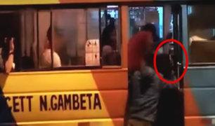 Inseguridad ciudadana: ¿qué hacer frente a un asalto en el transporte público?