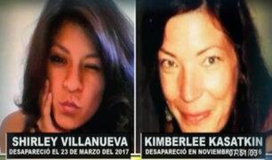¿Dónde están? Shirley Villanueva y Kimberlee Kasatkin siguen desaparecidas desde el 2016 y 2017