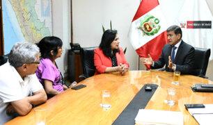 Solsiret Rodríguez: Morán pide perdón en nombre del Estado peruano a padres de activista