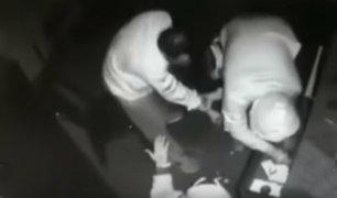La Libertad: ladrones asaltan grifo en la madrugada