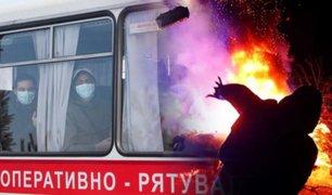 Ucrania: se registran protestas por temor al coronavirus