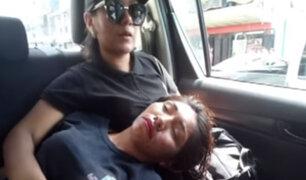 Gamarra: fiscalizadora municipal es agredida durante operativo