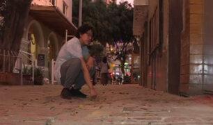 Miraflores: vecinos exigen a las autoridades remodelar de manera rápida la 'Calle de las Pizzas'