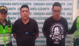San Juan de Lurigancho: detienen a sujetos que realizaron disparos al aire durante un velorio