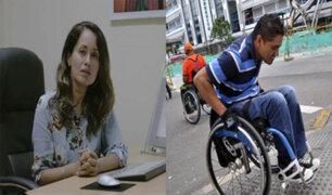 Elizabeth Zea: Derechos de personas con discapacidad no son respetados