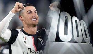 Cristiano Ronaldo llega a los 1000 partidos jugados