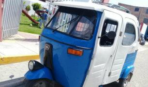 Breña: acusan a mujer de quemar moto de su expareja