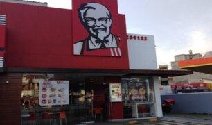 La Molina: sujeto que abusó de menor en local de KFC presentaría discapacidad mental
