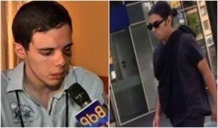 Acusado de agredir a joven extranjero en Miraflores niega el hecho