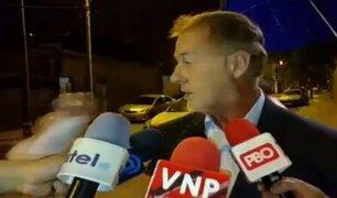 Jorge Muñoz: joven agreden a alcalde durante entrevista en vivo