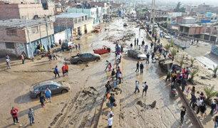 Tacna: ministro de Agricultura coordina ayuda para damnificados por huaicos