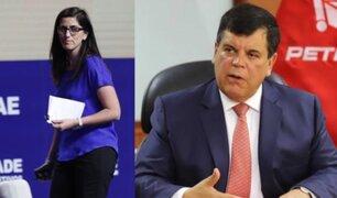 Carlos Paredes de Petroperú: no hay falta de respeto a la ministra, sino lisuras