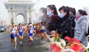 Corea del Norte cancela maratón de Pyongyang por el coronavirus
