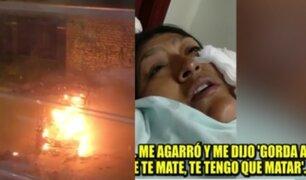 Mujer grave luego que sujeto intentara quemarla viva en SMP