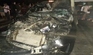 Lambayeque: tres fallecidos tras múltiple choque en carretera Panamericana Norte