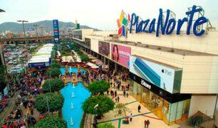 Al menos dos detenidos por incidente en centro comercial Plaza Norte