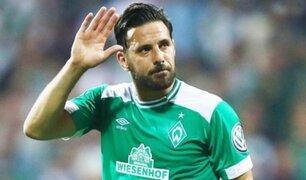 Claudio Pizarro envía saludo a las Fuerzas Armadas por su gran labor