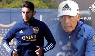 Boca Juniors: Carlos Zambrano aún no debutará en la Superliga