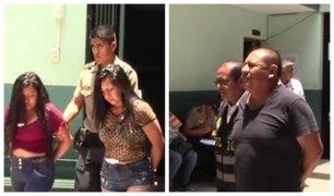 'Las peperas de Los Olivos': captaban a víctimas en discotecas y los abandonaban en parques