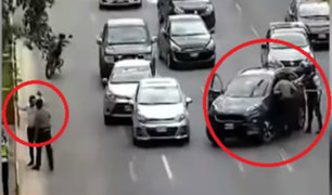 San Isidro: capturan a estafadores en plena avenida Javier Prado