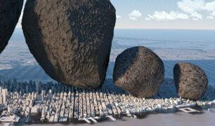 YouTube: El escalofriante video que muestra el tamaño de los asteroides que rodean a la Tierra