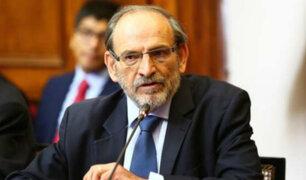 Yehude Simon: PJ evalúa pedido de prisión preventiva por 36 meses
