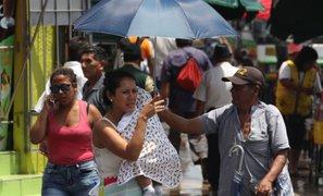 Atención: Lima Este soportará temperaturas mayores de 30 grados en próximos días