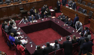 Comisión Permanente analiza esta mañana decretos de urgencia del Ejectuvo