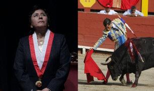 """Ledesma: """"las corridas de toros que trajeron los españoles hace 500 años no son nuestra cultura"""""""