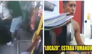 SMP: gracias a GPS activado, cayó uno de delincuentes que asaltó bus lleno de pasajeros